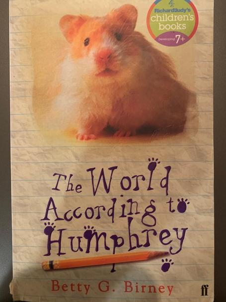 front cover: The World According to Humphrey