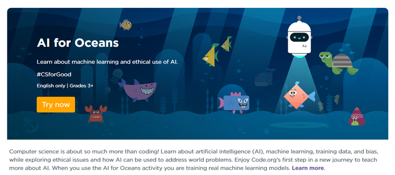 AI for Oceans Link