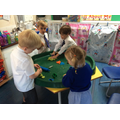 Playdough - strengthening arms, hands and fingers.