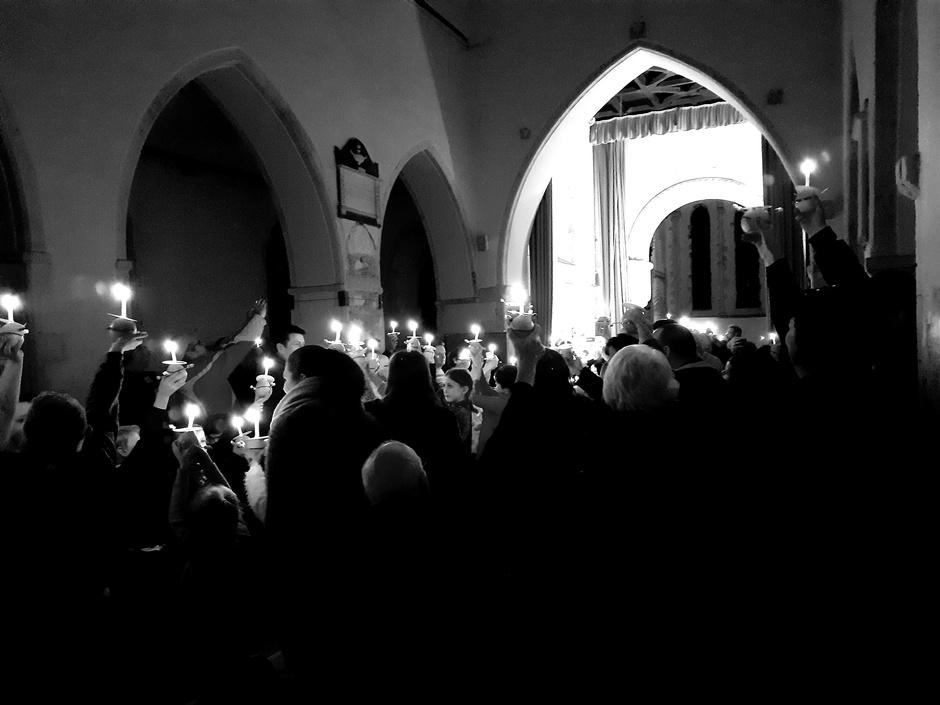 A few years ago we decided that we would hold a Christingle service in St Mary the Virgin Church, Chislet. Our first service was attended by probably 20-30 people. Over the last few years we have seen more and more of our community attend this service. Members of the Church community provide refreshments; staff buy the red ribbon and sweets and a parent kindly provided all of the oranges. Children spend the afternoon in school learning about why we celebrate Christingle and then make over 100 Christingles for our evening service. Children learn and prepare readings to tell the story of Jesus's birth and at the end we all light the Christingles as prayers and blessings are given by members of our church family. Every year it is such a wonderful sight to see the candles lit to represent God's light. Children, parents and staff as well as members of our church community come together to celebrate, talk and share time together.  A huge thank you to all who worked so hard to make this service happen and to all who took part this year.