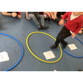 The children have been practicing sounding out words and beginning to blend them.