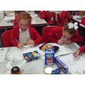 Identifying the different features of packaging.