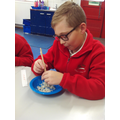 We persevered with using our chopsticks!