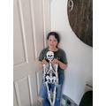 Iris' Skeleton