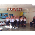 During our second performance at the harvest tea.