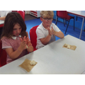 First we divided our dough into 3 balls.
