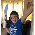 Koby's spear!