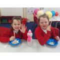 We enjoyed celebrating and eating together!