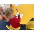 The children drew their houses