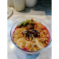 Iris' Berry Bliss Acai Bowl with home made yogurt