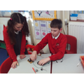 We created a range of simple series circuits.