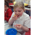 We enjoyed our fortune cookies!