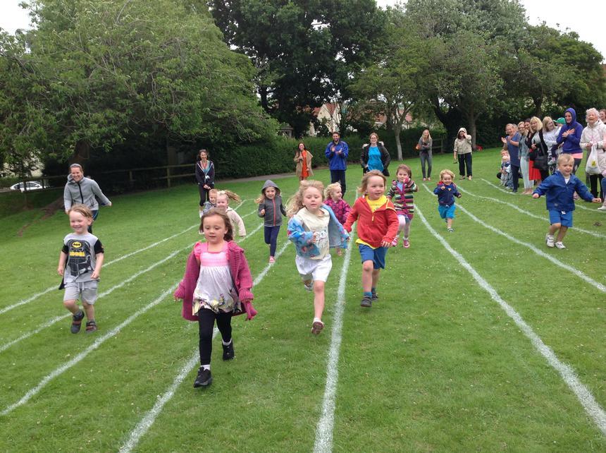 Toddler's race