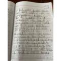 Alisha's diary