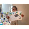 Alisha's bird drawing