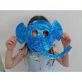 Lena's elephant mask
