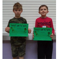 Well done to Noah (3) & Jack (4)