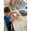 Noah baked scones
