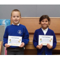 Well done to Toby (3) & Isla-Rose (4)