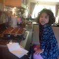 Anja's chocolate muffins