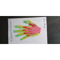 Jackson's family hands