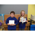 Well done to Freya (5) & Henry (6)