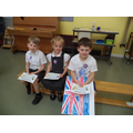 Well done to Eloise (R), Mickey (1), Benjamin (2)