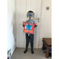 Zack's story book dressing up