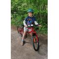 Seb went for a bike ride