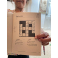 Alisha's crossword puzzle