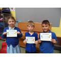 Well done to Noah and Louie (3), Amber (4)