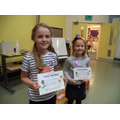 Well done to Sophie (3) and Fleur (4)