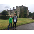 Ben at Hever Castle