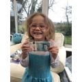 Mia's competition prize!