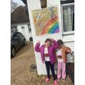 Alisha's & Alina's rainbow of hope poster