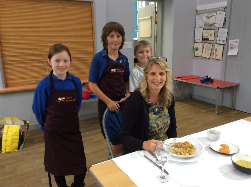 Three course meals - Year 5 and 6