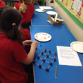 building a molecule model