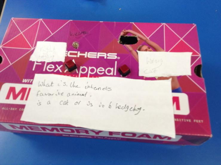 Keira's quiz box