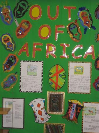 African Masks - Year 4