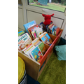 There's lots of books to choose from!