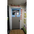 Just need some wiggly worms to add to our front door!!