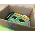 New books delivered to classrooms