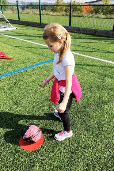 Good ball control.