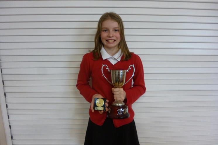 Isabelle Y6 - Well Done!