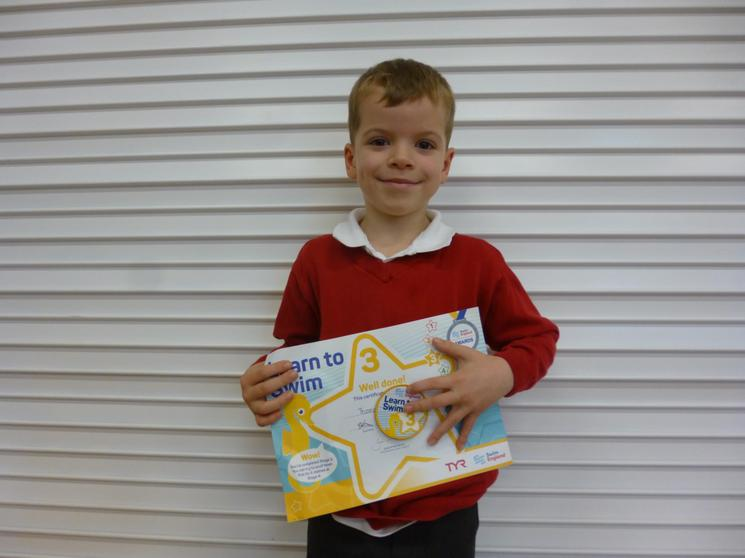 Well done to Tom Y2.