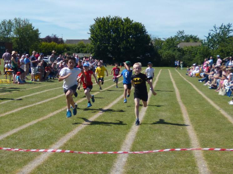 Year 3 Boys - Race