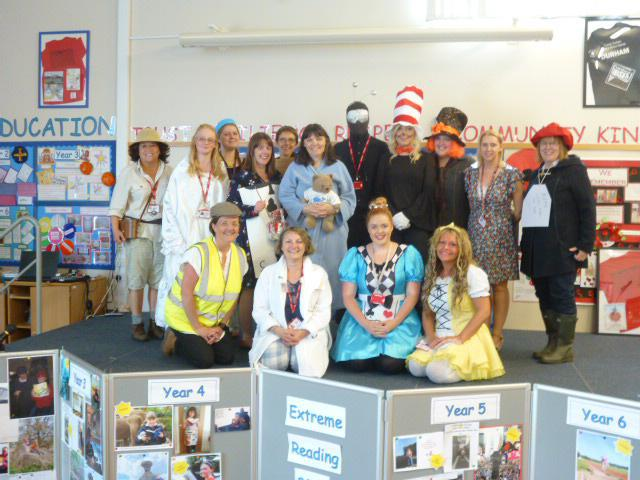 Staff as Book Characters 2017