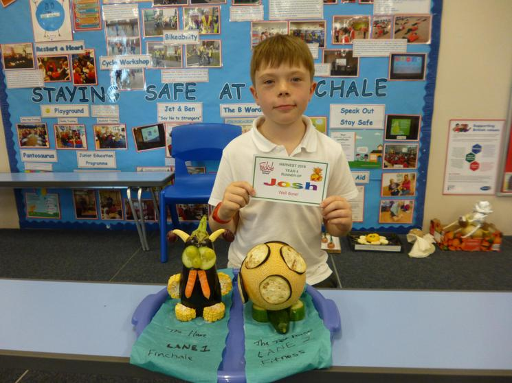 Year 4 Runner Up - Josh