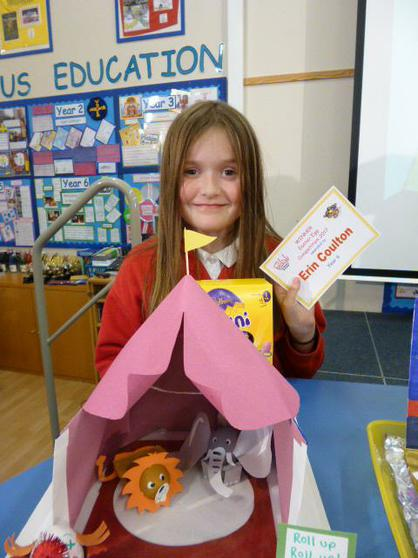 Year 6 Winner: Erin