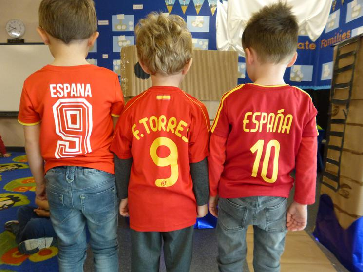 Reception Class - Spain